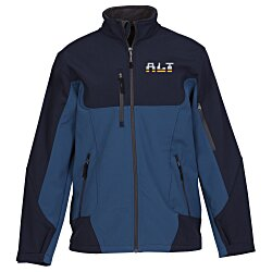 View a larger, more detailed picture of the North End Color Block Soft Shell Jacket - Men s