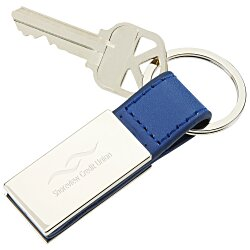 View a larger, more detailed picture of the Colorplay Leatherette Key Ring