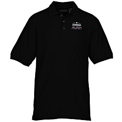 View a larger, more detailed picture of the Whisper Pique 60 40 Blend Polo - Men s