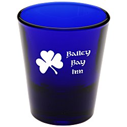 View a larger, more detailed picture of the Shot Glass - 1-1 2 oz Tapered - Colors