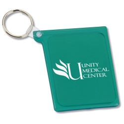 View a larger, more detailed picture of the Quik-Vu Mirror w Key Ring - Opaque