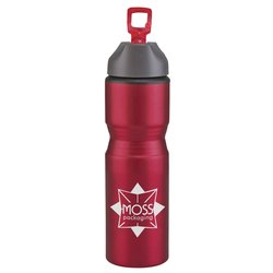 View a larger, more detailed picture of the Excursion Aluminum Sport Bottle - 28 oz