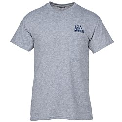 View a larger, more detailed picture of the Gildan 5 6 oz DryBlend 50 50 Pocket T-Shirt - Colors-Screen