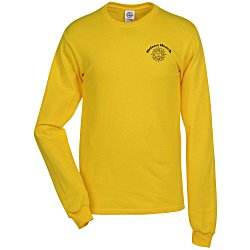 View a larger, more detailed picture of the Adult 5 2 oz Cotton Long Sleeve T-Shirt
