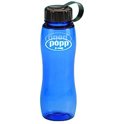 View a larger, more detailed picture of the Poly-Pure Slim Grip Bottle - 25 oz - Translucent