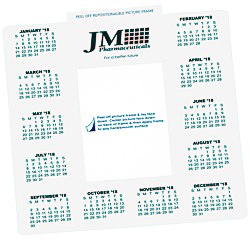 View a larger, more detailed picture of the Repositionable Photo Frame Calendar