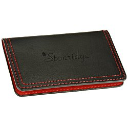 View a larger, more detailed picture of the Colorplay Accent Leather Card Case