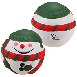 View a larger, more detailed picture of the Holiday Stress Reliever - Snowman