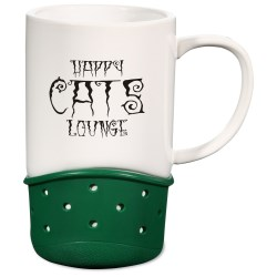 View a larger, more detailed picture of the Spinta Ceramic Mug - 14 oz - Closeout