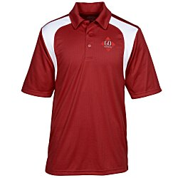 View a larger, more detailed picture of the Extreme Performance Color-Block Textured Polo - Men s