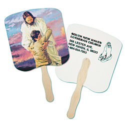 View a larger, more detailed picture of the Hand Fan - Spiritual - Forgiveness