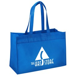 View a larger, more detailed picture of the Dot Large Tote - 13-1 2 x 20