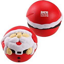 View a larger, more detailed picture of the Holiday Stress Reliever - Santa - 24hr
