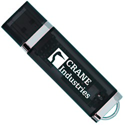 View a larger, more detailed picture of the USB 2 0 Flash Drive - 8GB - Translucent