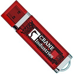 View a larger, more detailed picture of the USB 2 0 Flash Drive - 4GB - Translucent
