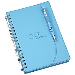 View a larger, more detailed picture of the Neoskin Spiral Notebook with Tempest Pen