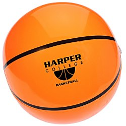 View a larger, more detailed picture of the Sport Beach Ball - Basketball
