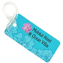 View a larger, more detailed picture of the Destination Luggage Tag - Tropical