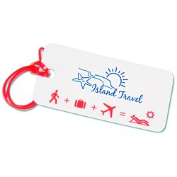 View a larger, more detailed picture of the Destination Luggage Tag - Beach