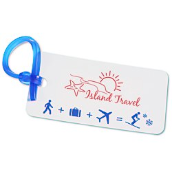 View a larger, more detailed picture of the Destination Luggage Tag - Ski