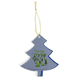 View a larger, more detailed picture of the Seeded Paper Ornament - Tree