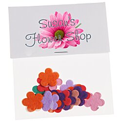 View a larger, more detailed picture of the Flower Seed Multicolor Confetti Pack - Flower