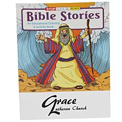 View a larger, more detailed picture of the Bible Stories Coloring Book