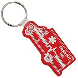 View a larger, more detailed picture of the Ambulance Soft Key Tag