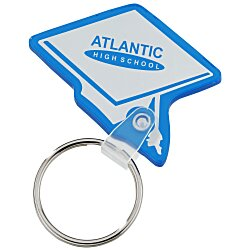View a larger, more detailed picture of the Graduation Cap Soft Key Tag