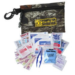 View a larger, more detailed picture of the Mossy Oak First Aid Kit