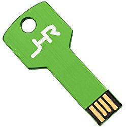 View a larger, more detailed picture of the Colorful Key USB Drive - 8GB