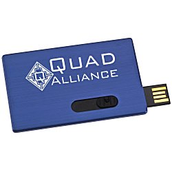 View a larger, more detailed picture of the Slide Card Micro USB Drive - 1GB