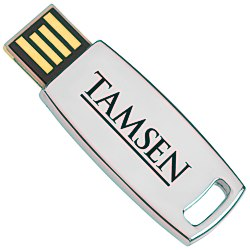 View a larger, more detailed picture of the Trim Executive Micro USB Drive - 4GB