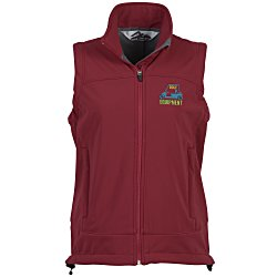 View a larger, more detailed picture of the Zeal Soft Shell Vest - Ladies