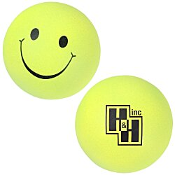 View a larger, more detailed picture of the Smiley Face Mood Stress Ball