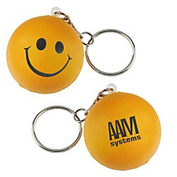 View a larger, more detailed picture of the Smiley Face Mood Stress Key Chain