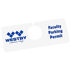 View a larger, more detailed picture of the Hanging Parking Permit - 2 x 5