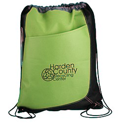 View a larger, more detailed picture of the Trapezoid Drawstring Sportpack