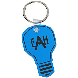 View a larger, more detailed picture of the Light Bulb Soft Key Tag - Translucent