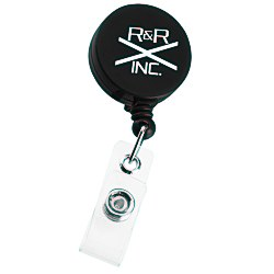 View a larger, more detailed picture of the Economy Retractable Badge Holder - RD - Opaque
