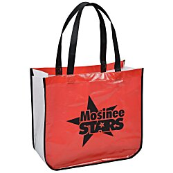 View a larger, more detailed picture of the Laminated Shopping Tote - 14-1 2 x 16-1 4