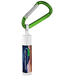 View a larger, more detailed picture of the Value Lip Balm w Carabiner - Mountains