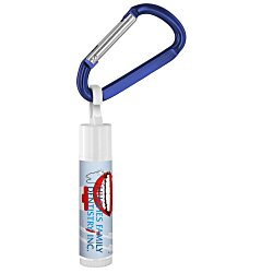 View a larger, more detailed picture of the Value Lip Balm w Carabiner - Dentist