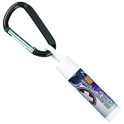 View a larger, more detailed picture of the Value Lip Balm w Carabiner - Medical Cross