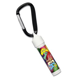 View a larger, more detailed picture of the Holiday Value Lip Balm w Carabiner - Eggs