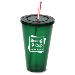 View a larger, more detailed picture of the Spirit Tumbler - 24 oz - Holiday