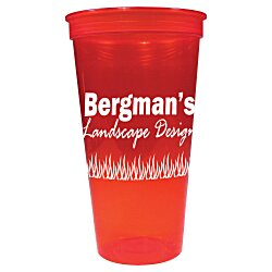 View a larger, more detailed picture of the Stadium Cup - 24 oz - Jewel