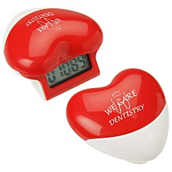 View a larger, more detailed picture of the Healthy Heart Step Pedometer