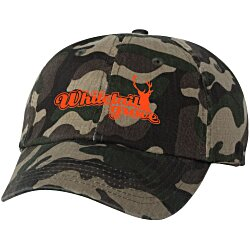 View a larger, more detailed picture of the Bio-Washed Cap - Camo - Screen