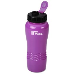 View a larger, more detailed picture of the Neon Wave Sport Bottle - 26 oz